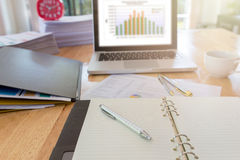 Bild von Geschäftsunterlagen Stockbilder