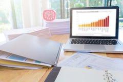 Bild von Geschäftsunterlagen Lizenzfreies Stockfoto