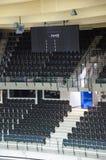 Bild von leeren Sitzen Stockbild