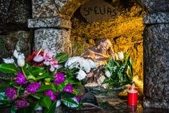 Bild von S Elias in der Steinkapelle Lizenzfreies Stockbild