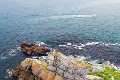 Bild von schöner Paradiesinsel Stockfotos