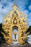 Bild von weißem Buddha Stockfoto