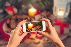 Bild von Weihnachten Stockfotografie