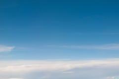 Bild von Wolken und von blauem Himmel Lizenzfreies Stockbild