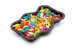bilda genomsyrat sweetmeatteflon arkivfoton