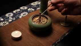 Bildande av r?kelseform Kinesisk teaceremoni