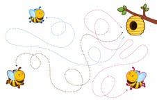 Bildande tryckbara lekar för utvecklingen av fin motorexpertis i ungar stock illustrationer