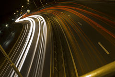 bildandehuvudväg s Royaltyfria Bilder