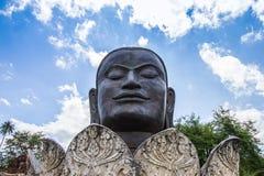 Bildbuddha-Kopf Lizenzfreies Stockfoto