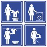 Bilddagramm - Wäscherei Lizenzfreies Stockfoto