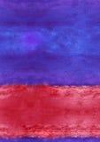 Bilden för bakgrund för vattenfärgen tapetserar den SÖMLÖSA drog handen för affischer, baner, Royaltyfri Foto