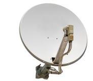 bilden för datoren för antennen 3d frambragda framför maträtten satelliten Royaltyfria Bilder