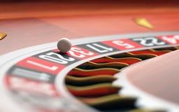 bilden för kasinot 3d framförde rouletten Arkivfoton