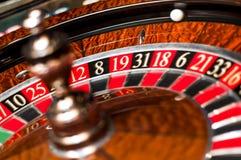bilden för kasinot 3d framförde rouletten Arkivbilder