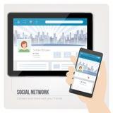 bilden för nätverket 3d framförde samkväm Fotografering för Bildbyråer