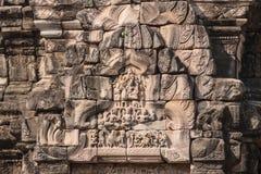 Bilden på historiska Phimai parkerar Royaltyfri Fotografi