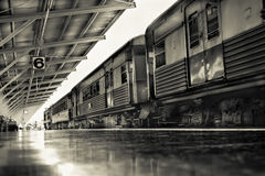 Bilden Sie Abweichen von Hualampong-Station Bangkok Thailand mit Cl aus Stockbild