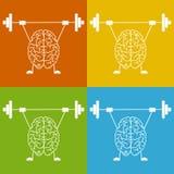 Bilden Sie Ihr Gehirn aus Stockbilder