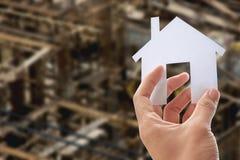 Bilden Sie Ihr Haus Lizenzfreies Stockbild