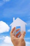 Bilden Sie Ihr Haus Lizenzfreie Stockbilder
