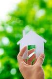Bilden Sie Ihr Haus Lizenzfreie Stockfotografie