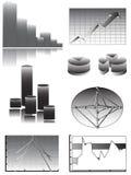 Bilden Sie Ihre Daten, Statistiken oder Reports Stockfotos