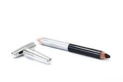 Bilden Sie kosmetisches Bleistiftisolat auf weißem Hintergrund Lizenzfreie Stockbilder