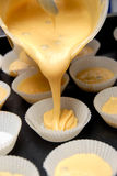 Bilden Sie Muffins Stockfotografie