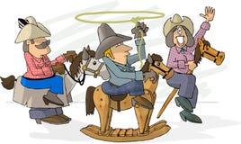 Bilden Sie, Rodeo zu glauben Stockbild