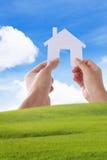 Bilden Sie unser Haus, Ihr Haus Stockbilder