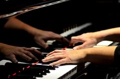 Bilder av musik royaltyfria bilder