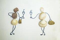 Bilder av musslor Arkivbild