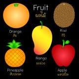 Bilder av olika frukter Royaltyfri Foto