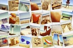 Bilder av olika sommarplatser, skott mig själv Royaltyfria Foton