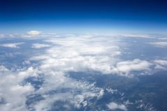 Bilder der hohen Auflösung von clounds und von blauem Himmel Lizenzfreie Stockfotos