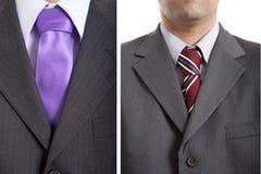 Bilder der Männer mit Gleichheit lizenzfreies stockbild