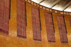 Bilder der Standards auf der runden Wand mit den Namen 7200 Lizenzfreies Stockbild