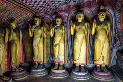 Bilder der Stellung von Buddha in Dambulla Stockbilder