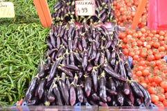 Bilder des Frühstücksgrünen paprikas im Gemischtwarenladen Stockbilder