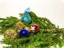 Bilder des neuen Jahres und des Weihnachten Lizenzfreie Stockbilder