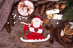 bilder för julkakafind ser mer min portfölj samma serie till Julkakor med den festliga garneringen Royaltyfria Foton