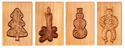 Bilder schnitzten im Holz Lizenzfreie Stockbilder