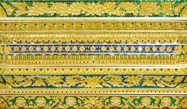 Bilder snider konstnärligt från thailändsk målning & litteratur för backgr Royaltyfria Foton