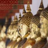 Bilder von Buddha bei Wat Pho oder bei Wat Phra Chetupon Vimolmangklarar Stockbilder