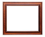 Bilderrahmen aus Holz Stockfotos