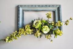 Bilderrahmen der Blume 3D Lizenzfreies Stockfoto