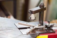 Bilderrahmen, der Werkzeug herstellt Stockfotografie