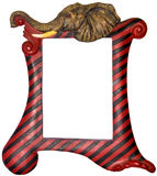Bilderrahmen - Elefant themenorientiert Stockbild
