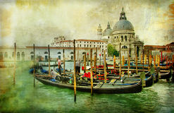 Bildhaftes Venedig Stockbild