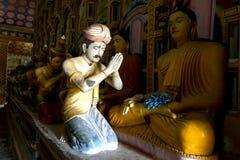 Bildhuset på Wewurukannala Vihara på Dickwella i Sri Lanka arkivfoton